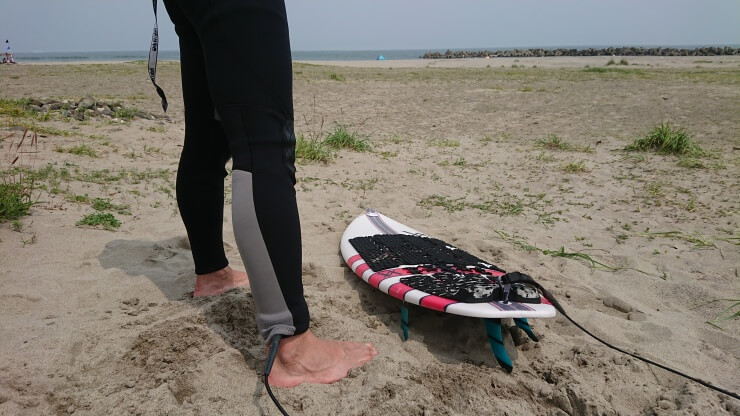 サーフィン用リーシュコードの付け方・紐の結び方・寿命 まとめ