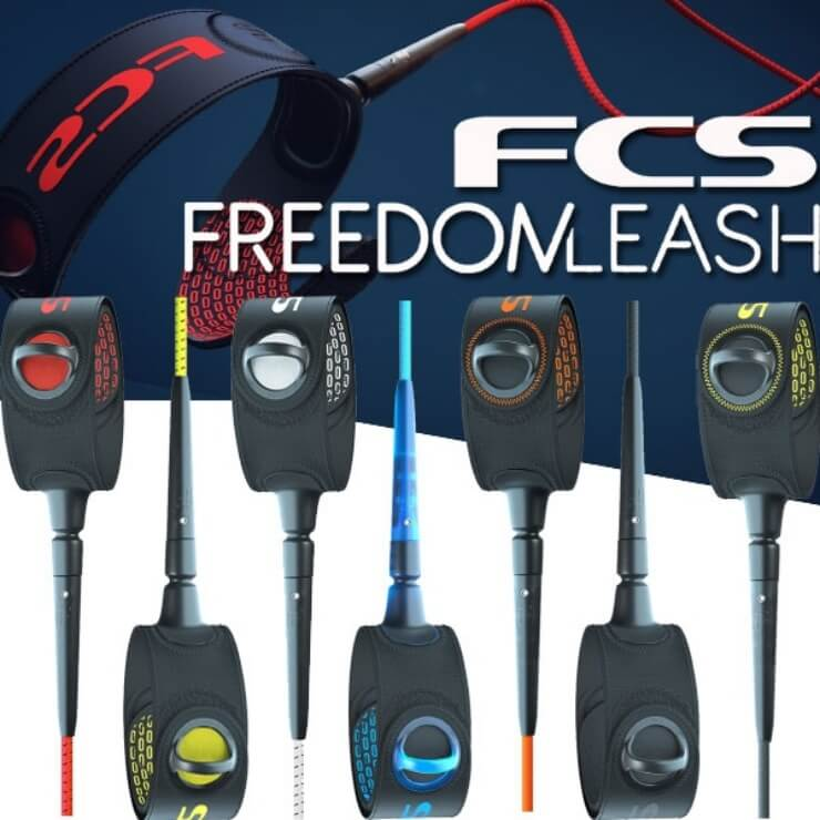 FCS エフシーエス サーフィン リーシュコード FREEDOM LEASH 6ft フリーダムリーシュ FREEDOM