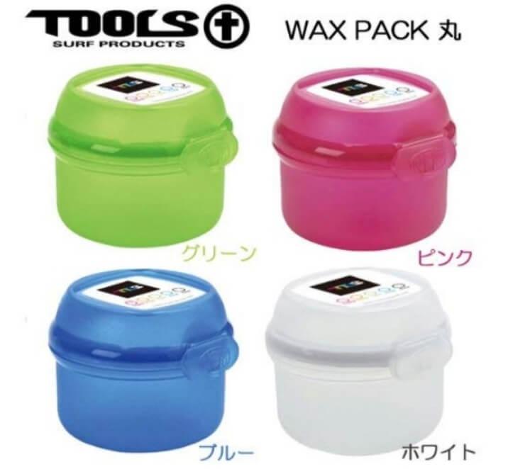 TOOLS WAX PACK 丸(ワックスパック まる) ワックスケース