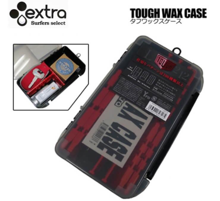EXTRA ワックスケース TOUGH WAX CASE タフワックスケース サーフィン 小物入れ