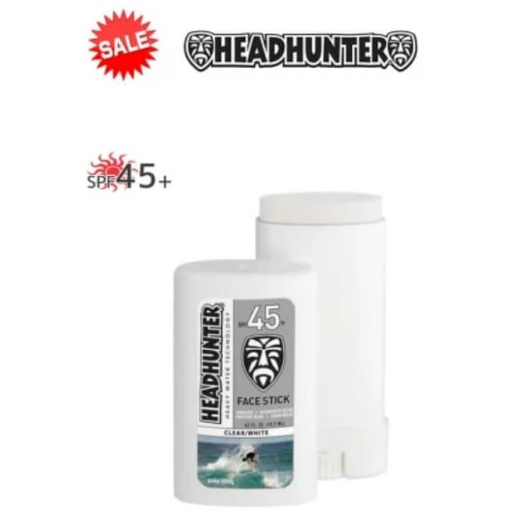 HEAD HUNTER(ヘッドハンター)日焼止め スティック [CLEAR/WHITE] FACE STICK