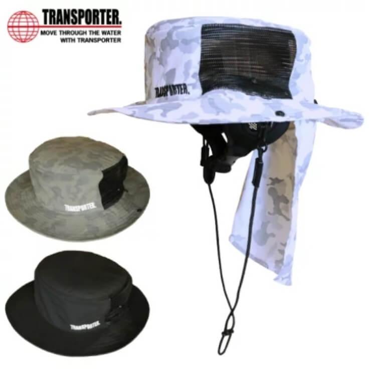 日焼け対策 帽子 サーフハット